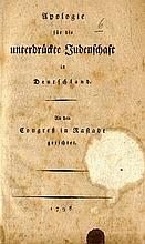 Two Jewish-German Books. Rare, 1798, 1835.