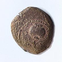 A bronze coin of Herod the Great, mint of Samaria