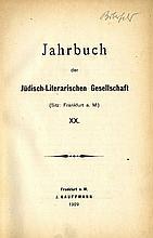 Jahrbuch der Jüdisch-Literarischen Gesellschaf