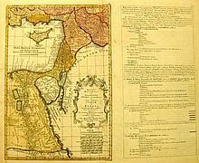 Map of Asiatic Turkey. Zatta Antonio. Venice, 1784