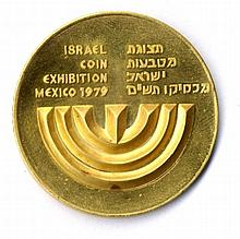 Israel-Mexico. Gold, 1980.