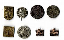 A Collection of Zionist Pins and Symbols, 1950's [8]