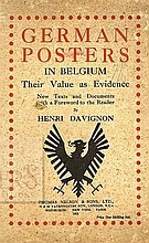 German Posters in Belgium. London, 1918