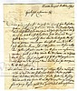 Business Letter. Jewish Tobacco Merchant. Austro-Hungarian Empire, 1797