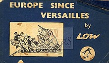 Caricatures. Europe since Versailles. London, 1940
