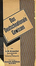 Conquest of Europe. The Conservative-National Party. Berlin, 1920; London, 1940, 1945. [3]