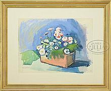 CARL SPRINCHORN (American, 1887-1971) STILL LIFE OF FLOWERS
