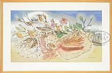 MARY PREBLE (American, 20th Century) SPRING AND FALL (STILL LIFE)