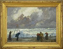 JAY HALL CONNAWAY (American, 1893-1970) THE APPROACHING STORM