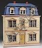 CHRISTIAN HACKER MANSARD ROOF DOLL HOUSE.