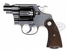 *COLT NEW SERVICE DA REVOLVER WITH RARE BARREL.