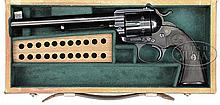 *RARE COLT BISLEY FLAT TOP TARGET SINGLE ACTION ARMY REVOLVER.