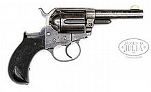 COLT MODEL 1877 LIGHTNING SHERIFF'S MODEL DA REVOLVER.