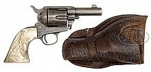 VERY RARE SHERIFF'S MODEL COLT SINGLE ACTION ARMY REVOLVER.