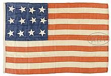 TWELVE STAR CIVIL WAR ERA FLAG.