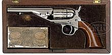 SCARCE CASED COLT POCKET NAVY CONVERSION REVOLVER.