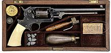RARE CASED STARR SINGLE ACTION ARMY REVOLVER.