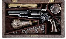 FINE CASED COLT 1855 ROOT MODEL 2 PERCUSSION REVOLVER.
