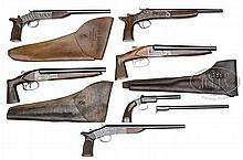 **RECREATIONAL LOT OF SIX SINGLE SHOT & DOUBLE SHOTGUN A. O. W.s.