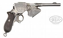 RARE STEYR LAUMANN MODEL 1891 REPEATING PISTOL.