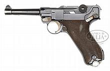 *◊ UNIQUE DWM OBERNDORF PROOFED POST WWI COMMERCIAL LUGER.