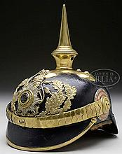 HESSIAN GRAND DUCHY GENERAL OFFICER'S HELMET.
