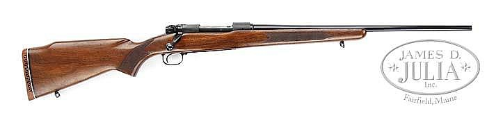*RARE SIGHTLESS WINCHESTER MODEL 70 FEATHERWEIGHT (GOPHER SPECIAL).