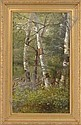 DELBERT DANA COOMBS (American, 1850-1938) WHITE BIRCHES, Delbert Dana Coombs, Click for value