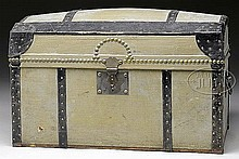 ELABORATE HURET DOME TOP TRUNK.