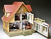 GOTTSCHALK RED ROOF DOLLHOUSE.