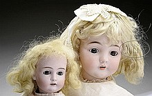 LOT OF TWO KESTNER CHILD DOLLS.