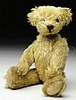 GOLD MOHAIR TEDDY BEAR.