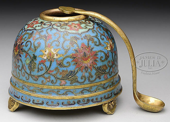 CLOISONNE WATER COUPE.