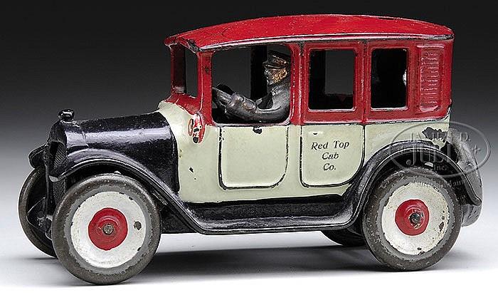 RARE RED TOP ARCADE CAB.