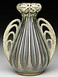 RARE TURN TEPLITZ AUSTRIAN VASE BY PAUL DACHSEL