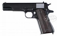 *EXTREMELY RARE SINGER MODEL 1911A1 MANAGEMENT PRESENTATION SEMI-AUTOMATIC PISTOL.