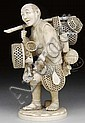EXCEPTIONAL JAPANESE IVORY CARVING.