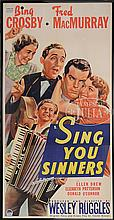 SING YOU SINNERS 1932 MOVIE POSTER.