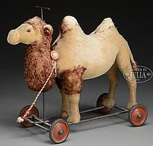 MARVELOUS STEIFF RIDING CAMEL WITH IDs.