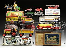 DIVERSE LOT OF 12 MISCELLANEOUS TOYS.