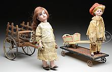 PAIR OF FRENCH AUTOMATA.