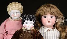 MISCELLANEOUS LOT OF 3 DOLLS.