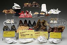 LARGE LOT OF DOLL SHOES.