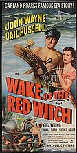 WAKE OF THE RED WITCH JOHN WAYNE MOVIE POSTER.