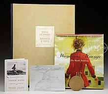 ANDREW WYETH (American, 1917-2009) LOT OF ITEMS PERTAINING TO ANDREW WYETH.