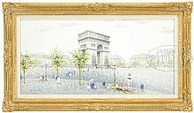 ANDRE GISSON (American/French, 1921-2003) ARC DE TRIOMPHE.