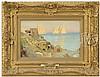 LORD FREDERIC LEIGHTON (British, 1830-1896) MEDITERRANEAN COASTAL SCENE (POSSIBLY CAPRI)., Lord Frederic Leighton, $4,000