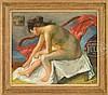 ROBERT PHILIPP (American, 1895-1981) AFTER THE BATH., Robert Philipp, $800