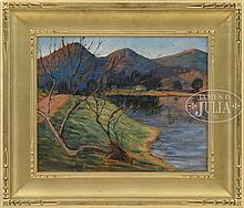 IRENE F CARMICHAEL (American, 20th century) SPRING VALLEY, CALIFORNIA.