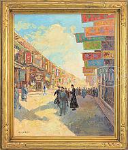 A. GROSZ (20th century) SHANGHAI.